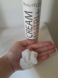 test de la mousse soin cream nutri de beaut live gouiran cr ative. Black Bedroom Furniture Sets. Home Design Ideas
