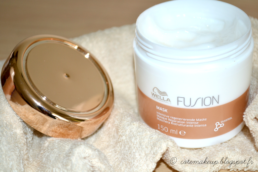 Masque capillaire FUSION de Wella par Côté Make-up