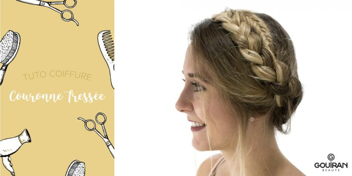 Tuto Coiffure Comment Realiser Une Couronne Tressee