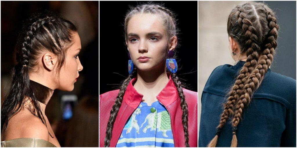 Les tresses collées : tendance coiffure 2018
