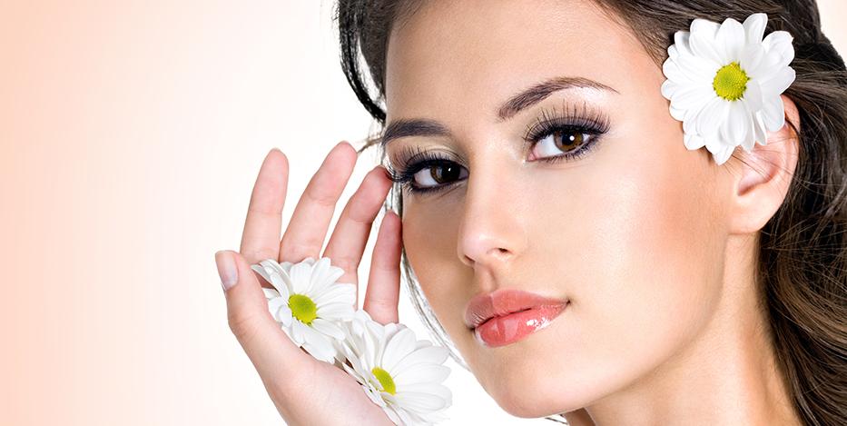 Soins cosmétique printemps