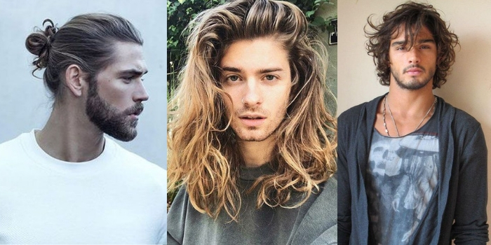 Coupes homme cheveux longs