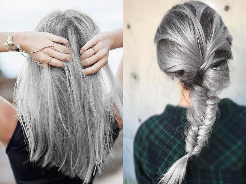 tendance coloration gris