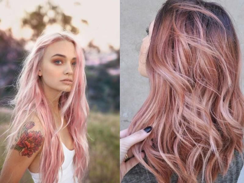 couleur rose quartz tendance