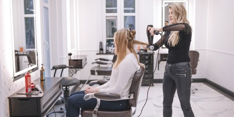 Fauteuil de coiffure