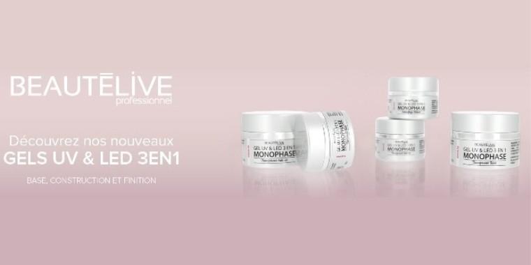Gels 3en1 UV & LED