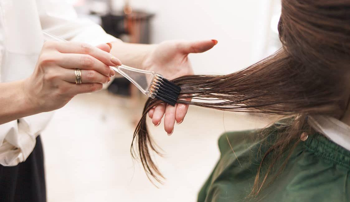 botox capillaire procédure sur cheveux