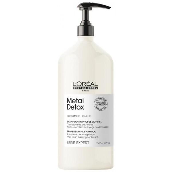 Shampoing Metal Detox. Détoxifie le cheveu après le service technique