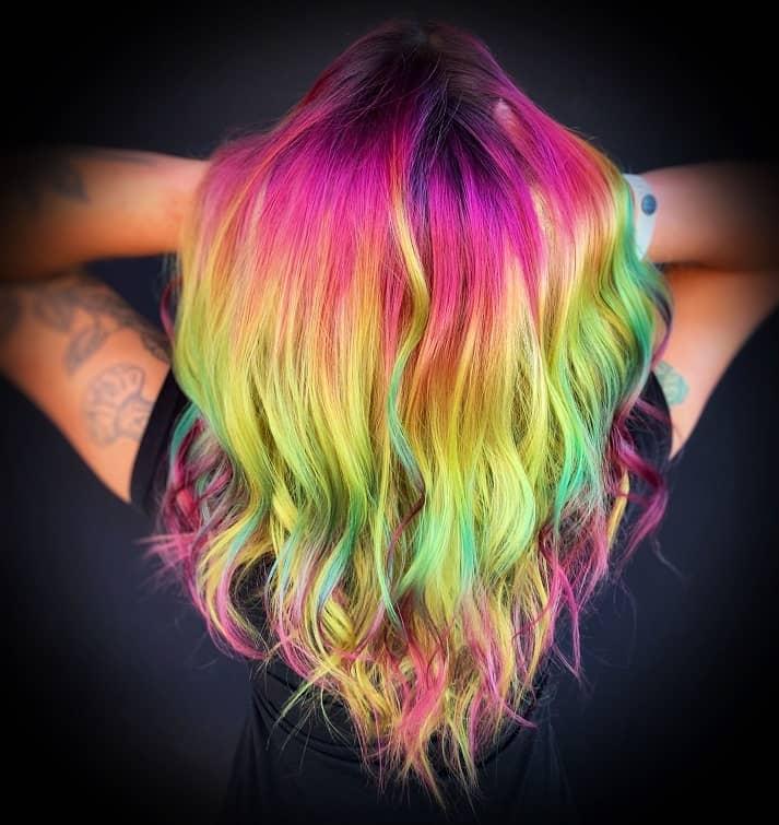 Coloration-multicolore-manic-panic