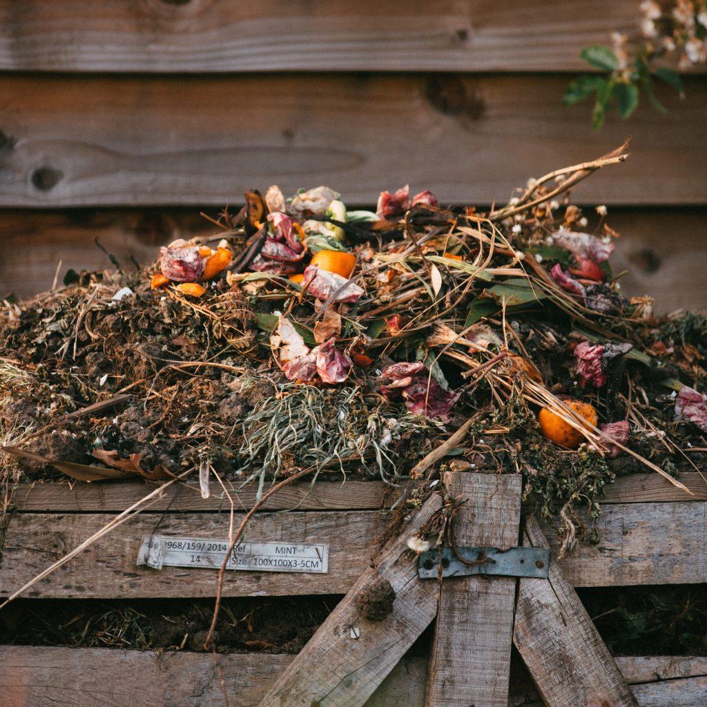Cheveux au compost