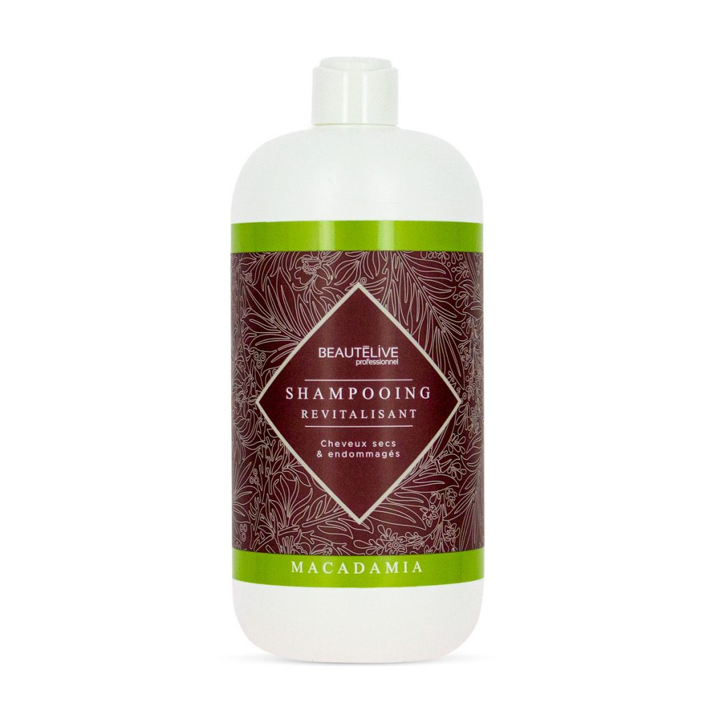 Shampoing revitalisant Macadamia par Beautélive